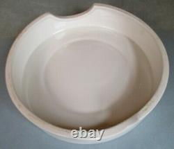 Dairy Supply London Cheese Dalle White Ware Store Display 9 1/4 Early 20th Cent