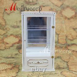 Dollhouse Échelle 1 / 12e Mobilier Miniature Set Coffret Blanc D'affichage De Magasin Main