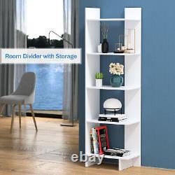 Ensemble De 2 Rangements De Bibliothèque Display Room Diviseur De Table Ouverte De 5 Étages Pour Le Bureau À Domicile