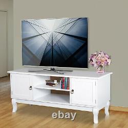Étagères Modernes En Bois D'affichage D'affichage De Table D'angle D'unité De Tv Avec Le Blanc De Tiroir