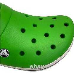 Grand 25 Crocs Vert Chaussures Boutique Affichage Nouveauté Jardin Planter Terrarium Art