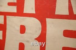 Grand Magasin Vintage Afficheur De Vitrine Mettre En Oeuvre Gratuit Magasin Publicité Rouge Blanc