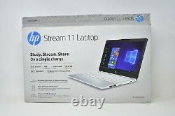 HP Stream 11 Ordinateur Portable (11-ak0035nr) 11,6 Affichage Hd Stockage 32 Go 4 Go Ram Gagnez 10 S