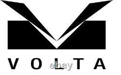 Haute Qualité Volta Ebony Wood 10 Montre Vitrine / Boîte De Rangement Intérieur Blanc