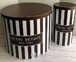 Henri Bendel Collectionable Rare Window Store Display Set Édition Limitée Iconic Hb