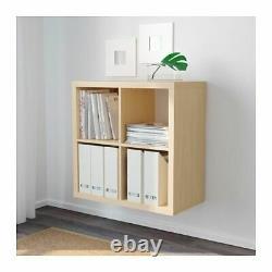 Ikea Kalax Étagère Unité De Rayonnage Cube Bibliothèque D'affichage Expedit 77x77 Étagère De Livre