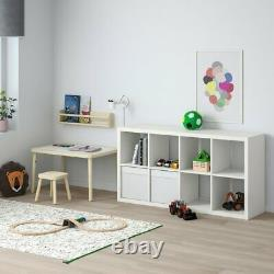 Ikea Kallax 77x147 CM Tiroir Étagères Unité Blanche