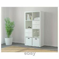 Ikea Kallax Bookcase Shelving Unit Display White Modern Shelf, 802.758.87 Nib