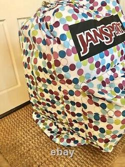 Jansport Sac À Dos Magasin Display Dots Rare Unique Large Jumbo Huge Excellent