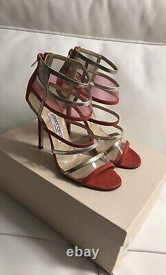 Jimmy Choo Maitai Sandals Pompes Taille 36.5 Affichage Magasin Excellent Condit