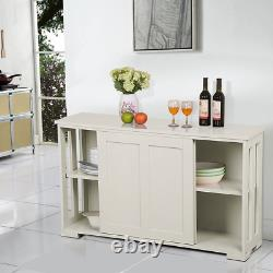 Kitchen Storage Buffet Armoire Sideboard Armoire Pantry Console Table Display