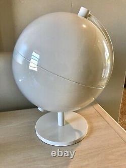 Louis Vuitton Blanc Globe Magasin Afficher Décor XL Designer Nouveau Rare Authentique 06