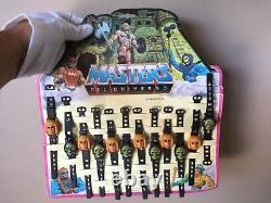 Mattel 1985 Masters De L'univers Skeletor Enfants Toy Watch Store Motu Display