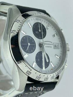 Modèle D'affichage De Magasin Eberhard & Co. Champion 31044 Chronographe Montre Automatique