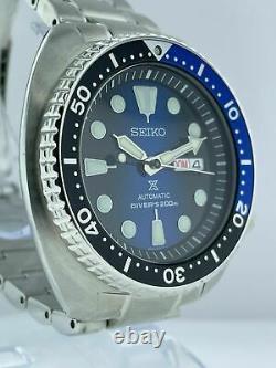 Modèle D'affichage De Magasin Seiko Prospex Srpc25k1 Cadran Bleu Hommes 45mm Montre Automatique