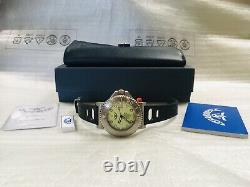 New Store Display Squale 30 Atmos Tiger Lume Blanc 44mm Montre Garantie 2 Ans