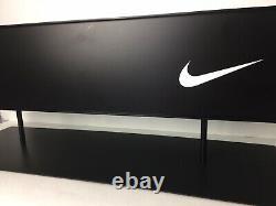 Nike Store Affichage Métal Publicité Noir Blanc 24l X 8w