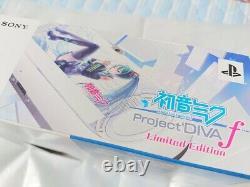 Ps Vita Hatsune Miku Limited Edition Pchj 10002 Box Affiché En Magasin Japon