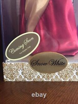 Rare Snow White Disney Designer Princess Doll Limited Edition Store Sac D'affichage