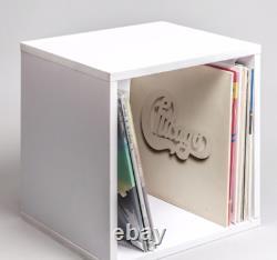 Record Cube (noir Et/ou Blanc Avec Opt. Top-shelf) Lp, Vinyl Storage / Display