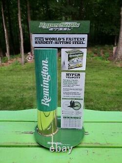 Remington Hypersonic Steel Shotgun Shell Countertop Store Display 16×8