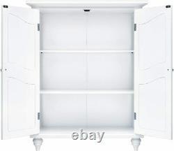 Salle De Bain Moderne Scroll Cabinet De Salle De Bains 2 Étagère Cuisine Bureau Display Blanc
