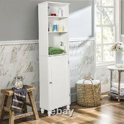 Salle De Bains Tower Storage Shelving Display Cabinet