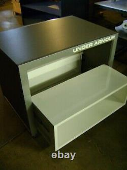 Sous Armour Nesting Table Style Grey & White Display Store Accessoires Set 2