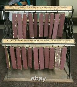 Vintage 1930's Rogers Paints Detroit White Lead Works Advertising Store Display