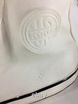 Vintage 70's Giant Keds Shoe Store Display Résine Plastique Moulée