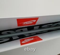 Vintage Années 1990 Plastique Just Do It Nike Sign Store Affichage Affiche Af1 Jordanie