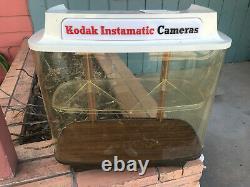 Vintage Camera Kodak Instamatic Publicité Magasin Showcase Display Repair