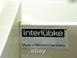 Vintage Interlübke Free System Display Permanent De Stockage Murale 1970 C