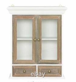 Vintage Kitchen Wall Cabinet Bathroom Storage Unit Armoire Chic Minable