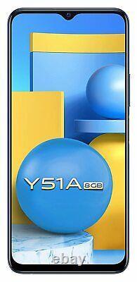 Vivo Y51a (ram 8gb, 128gb) 6.58affichage 48+8mp Caméra Dual Sim Googleplay Store