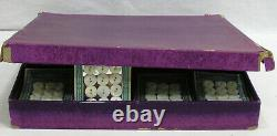 Vtg Store Display American Maid Pearls Boutons Na Lady À Canoe Gorgeous Lake