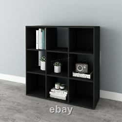 Westwood Bookshelf 3 Tier 9 Cube Bookcase Storage Display Pb Étagère Rack Unit
