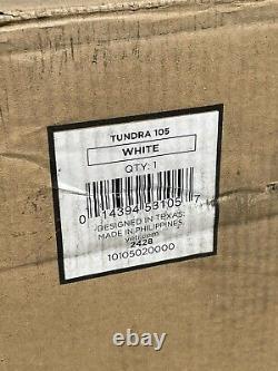 Yeti Tundra 105 White Store Afficher Rien Jamais À L'intérieur. Vendu Rare