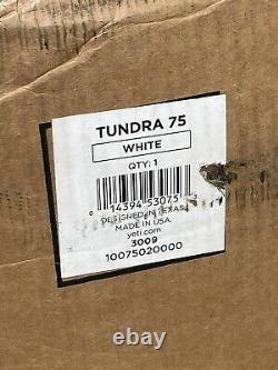 Yeti Tundra 75 White Store Afficher Rien Jamais À L'intérieur. Vendu Rare Nice